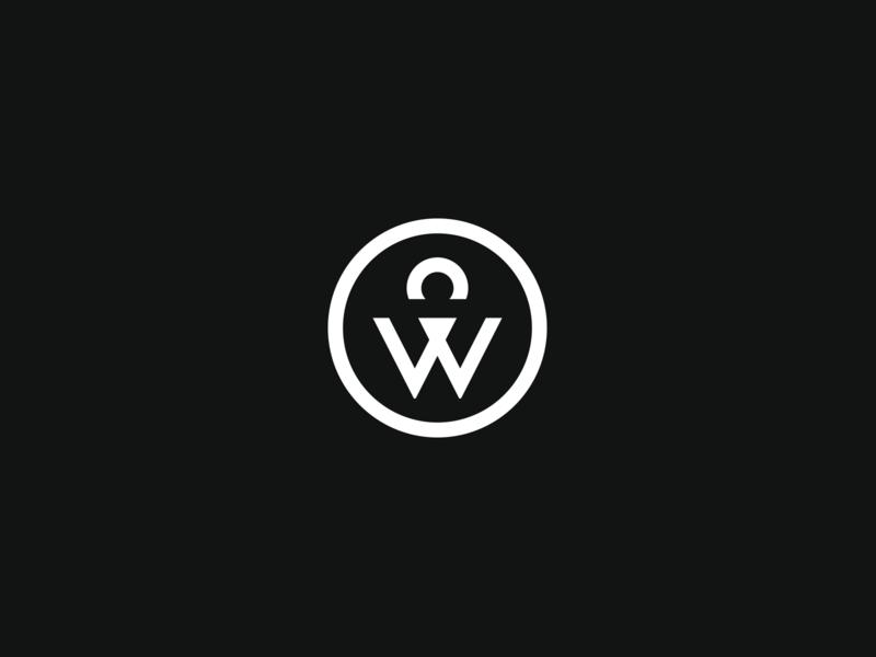 Corey Woosley Monogram photographer identity logo symbol monogram w c cw