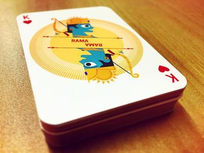 Ramayana Playing Cards - Rama