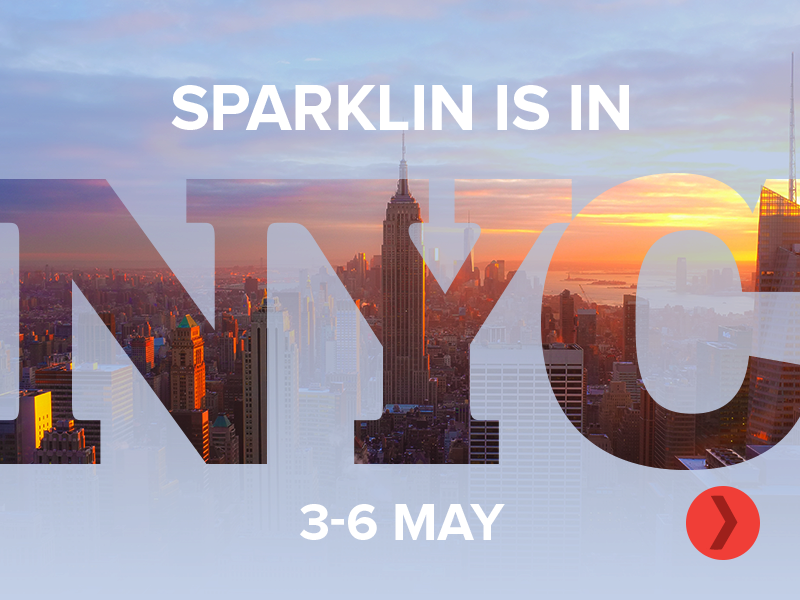 Sparklin is in New York City type android typography new york nyc discussion meet up new york city web mark design ios minimal app mobile logo branding graphic ui ux
