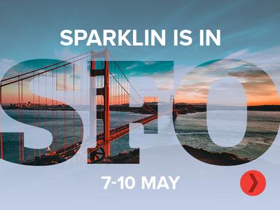 Sparklin is in San Francisco!