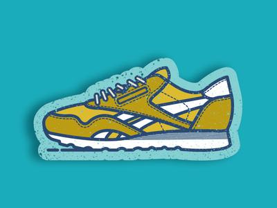 Reebok Classic Nylon reebok sneakers shoes sports shoe runner nylon classic