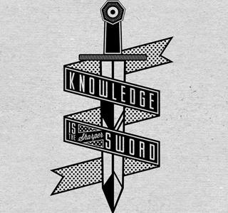 Off Key Clothing - Sharper brand logo identity type