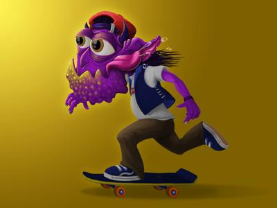 Skater Troll