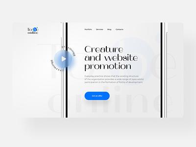 Web site and logo concept development programming studio web studio typography branding design brand design branding logotype logo web ux ui