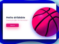 Hello Dribbble -)