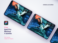 Free Ipad Pro Mock Up