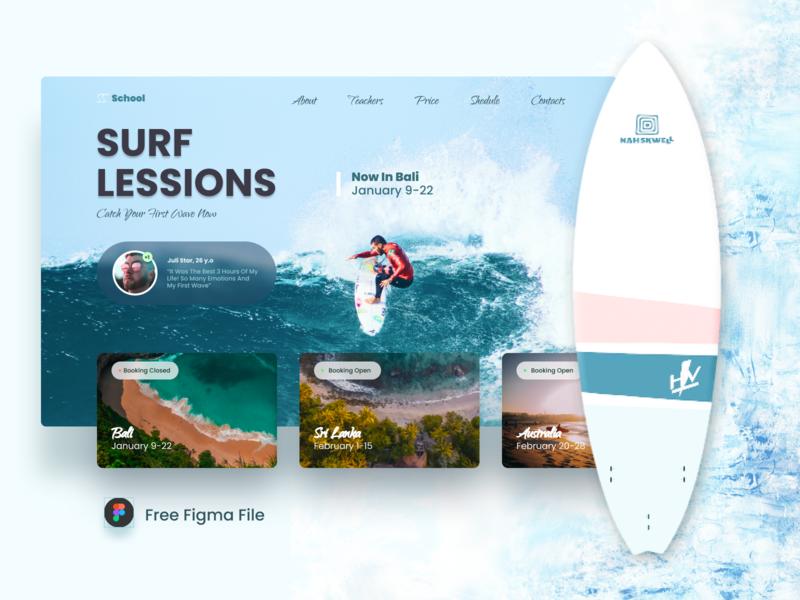 Surf school free file