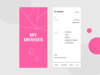 My Menses app