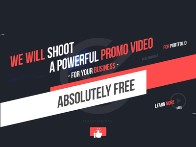 Promotional video for the company for free! design animation video animate animate