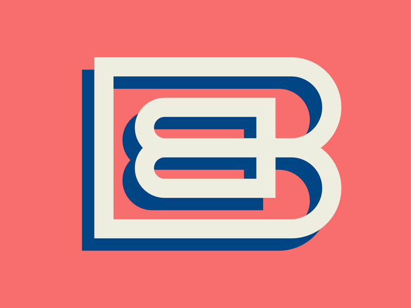 Letter B Concept for 36 Days of Type lettermark design graphic design colorful vector logotype typeface type design typography icon design logo design lettering