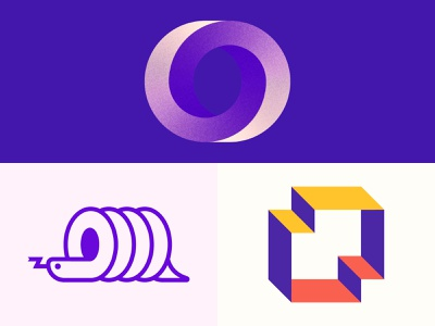 O Lettermark Explorations logotype behance dribbble logoidea logotipo vector animation flat web app typography branding ui graphic design minimal