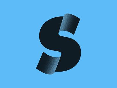 Negative Space S Lettermark negative space logoinspiration logoinspire logoidea behance dribbble logo design icon illustrator graphic design typography vector logo design minimal