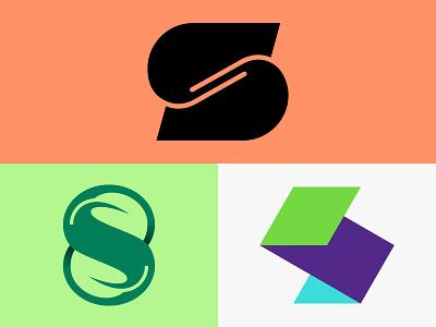 S Lettermark Explorations logonew logoidea logoinspire lettermark lettering behance dribbble icon typography illustrator graphic design logo vector design minimal