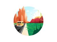 Roadtrip - Illustration