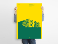 BRIGHT - Poster Design