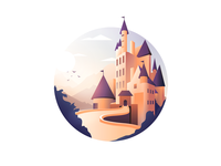 Eltz Castle Illustration