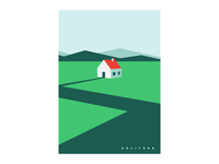 Solitude - Minimal Illustration