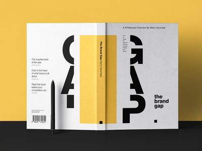 The Brand Gap - Bookcover Redesign Practice