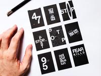 Quick Typography Poster Practice