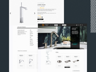 Domani Design: e-commerce template