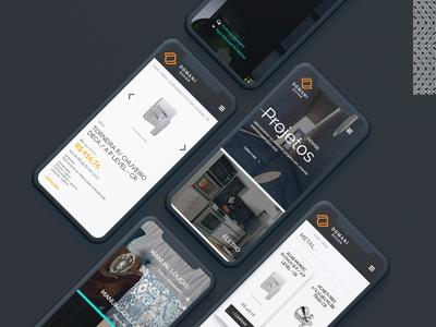 Domani Design: e-commerce template   mobile version