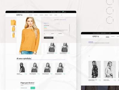 Gray 8 - Fashion Store: e-commerce template