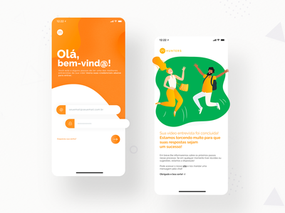99Hunters: Interview App - Mobile Design