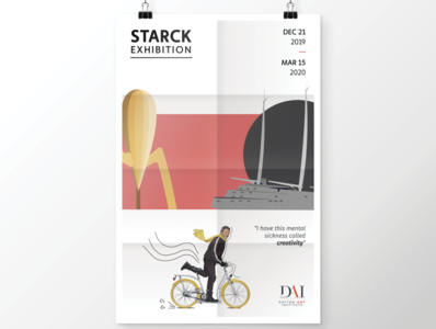 Poster - Starck Exhibition at The Dayton Art Institute