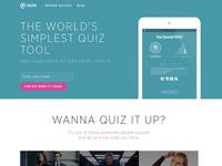 Qzzr Homepage