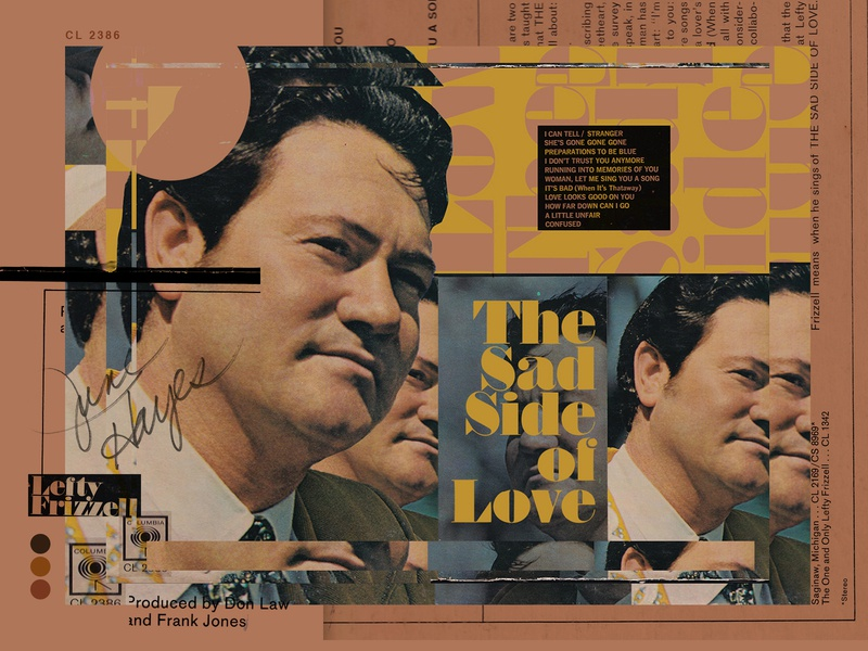 "RRP 017: Lefty Frizzell ""The Sad Side of Love"" - 1965"