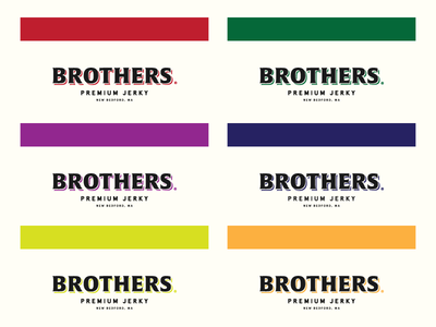Brothers Jerky Colors