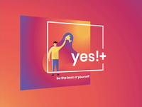 3D Poster - Yes!+