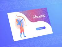 Ramayana Online Reading - Concept Website