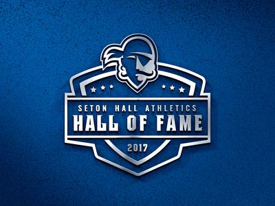 Seton Hall Athletics — Hall of Fame Logo