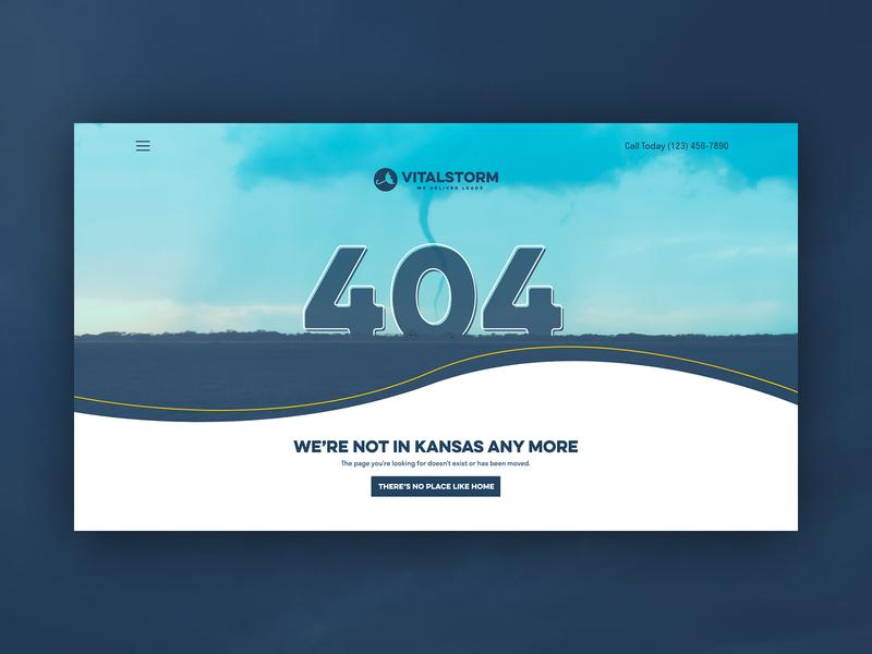 VitalStorm 404 Page