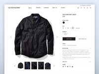 Outerknown E-Commerce Website