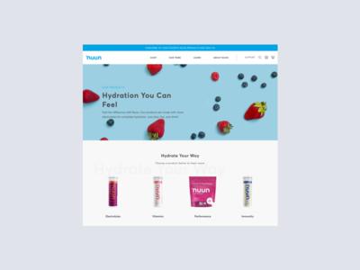 Nuun | eCommerce Experience