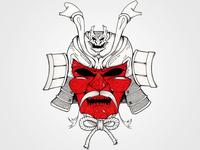 マスクし兜 No.0 (Masked Helmet No. 0)