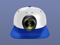 Sports cap illustration