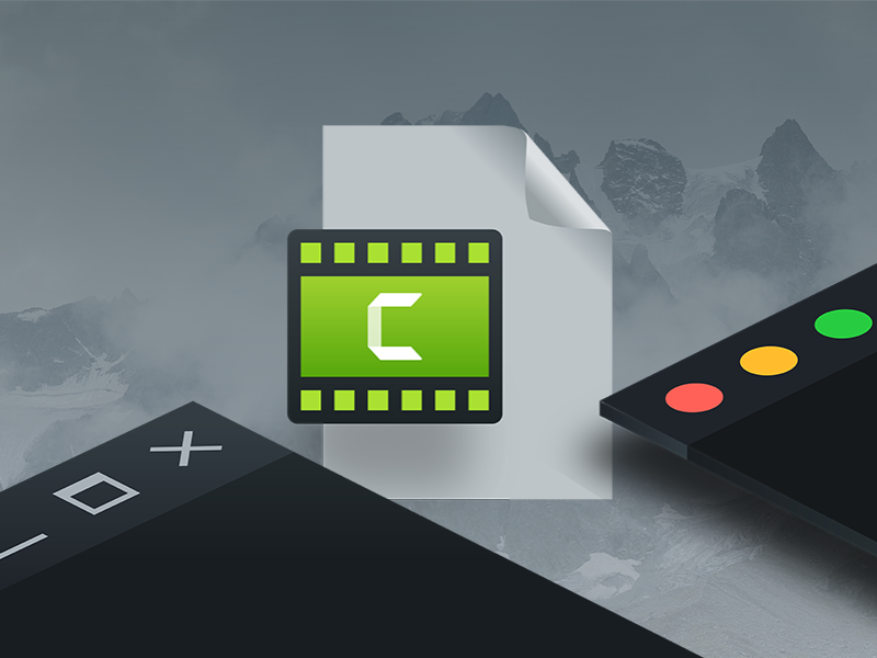 Cross-platform Camtasia windows mac ui ux camtasia