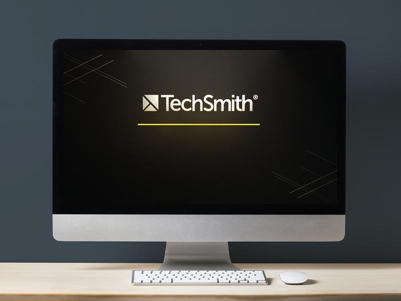 TSC desktop background 3d render 3d design techsmith illustration identity branding art direction