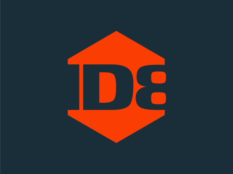 ID8 Main logo id8 modular design logo design logo graphic design branding identity art direction