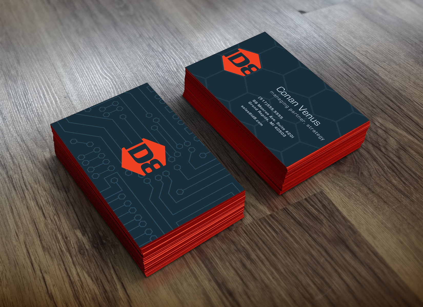 Id8 business card