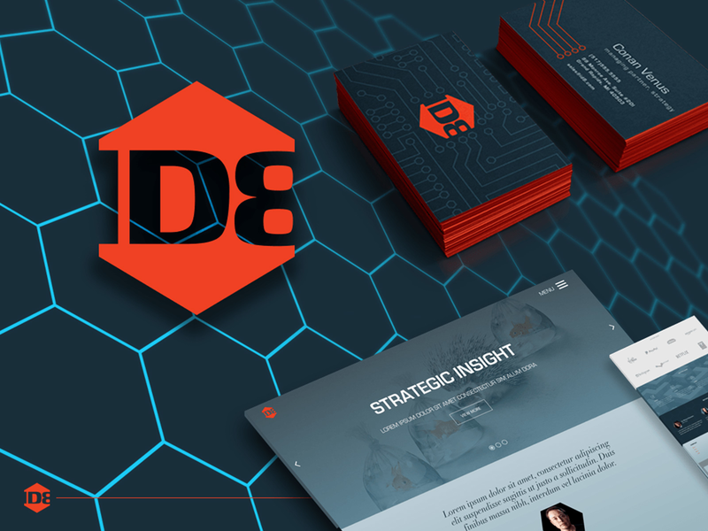 ID8 branding sample id8 logo design modular design visual design logo identity branding art direction