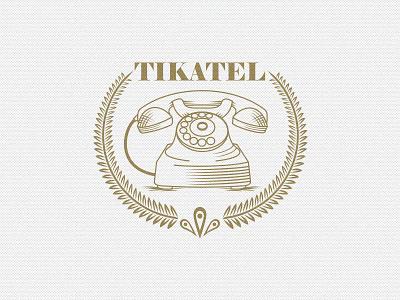 Tikatel hosseinyektapour 1ta logo brand mark tikatel