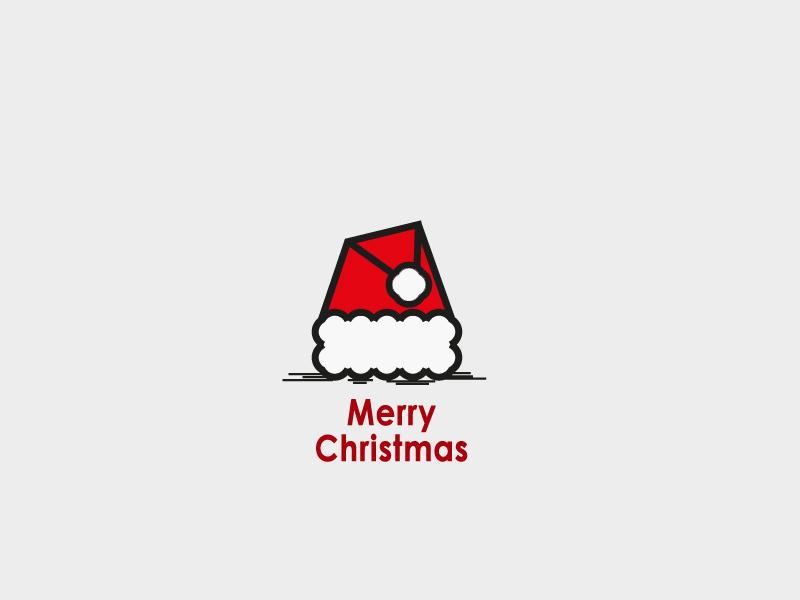Merry Christmas  hosseinyektapour 1ta logo brand mark christmas