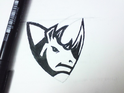 Rhino hossein yektapour 1ta logo rhino security drawing