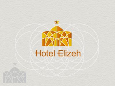 Hotel Elizeh hossein yektapour 1ta logo mark hotel