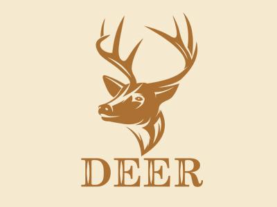 Deer hossein yektapour 1ta logo mark brand deer aahhuu