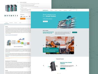 Website Revamp style guide design system ui design ux web branding ui design
